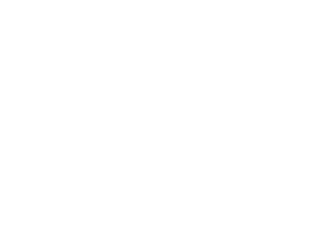 Logo Garden Services 4 You-1